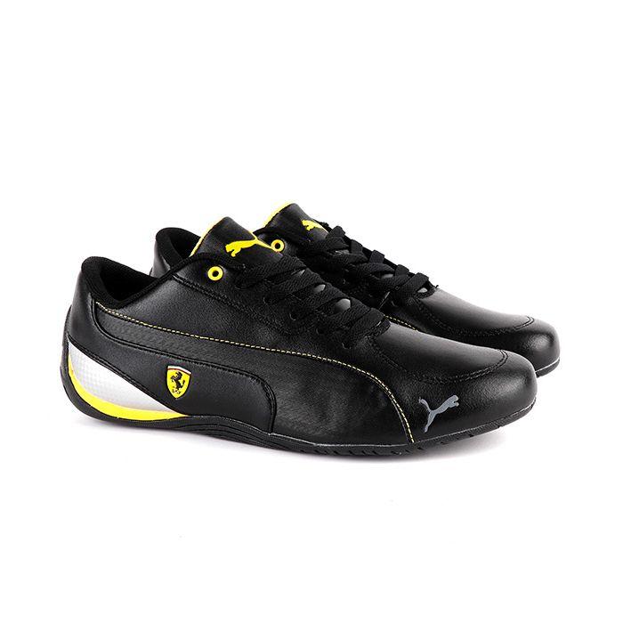 acheter populaire eb7c0 75521 Puma Future Cat Leather SF | Black Yellow