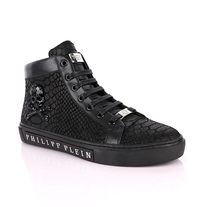a basso prezzo 245e4 be3ed Philipp Plein Croc Luxury Sneakers