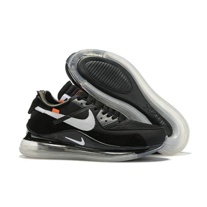 best service 51a2c 1ca6a The 10: NIke x Off White Air 720 90 | Black White