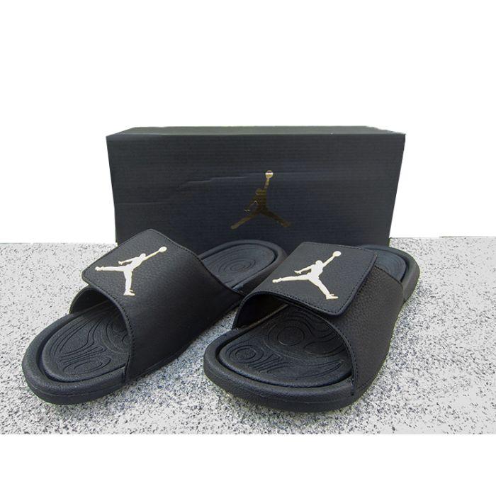 outlet store 9abd0 29c78 AJ Hydro 6 BG | Black White Slide