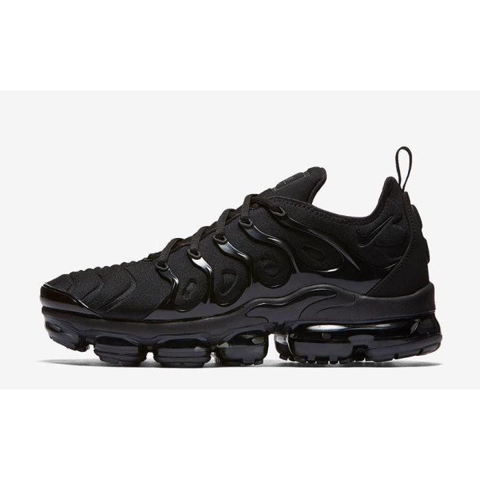 size 40 33c29 aeafa Nike Air Vapormax Plus Triple Black | Buy Online