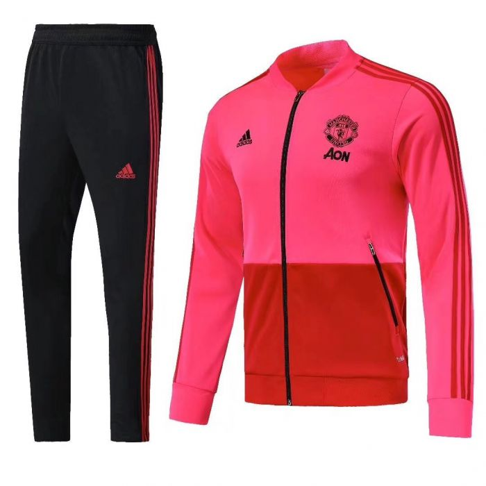 size 40 9d687 8ebfc Manchester United Presentation Tracksuit | Pink