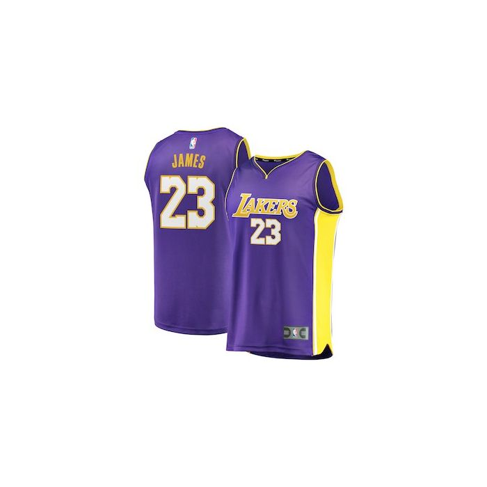 uk availability b490d 1026b Los Angeles Lakers Lebron James Nike Jersey | Navy Blue Yellow