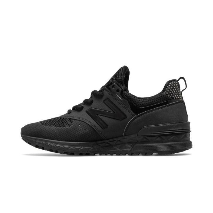 brand new 024f6 e68c5 New Balance 574S Sport Men | All Black | Buy Online