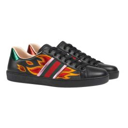 Ace low-top sneaker with flames | Buy